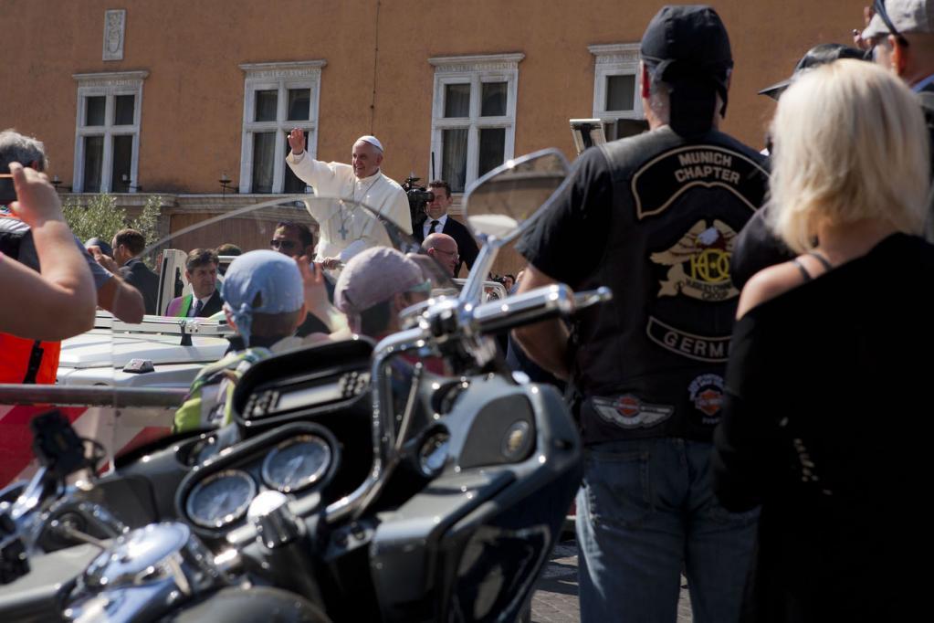 Motorrad-Gottesdienst: