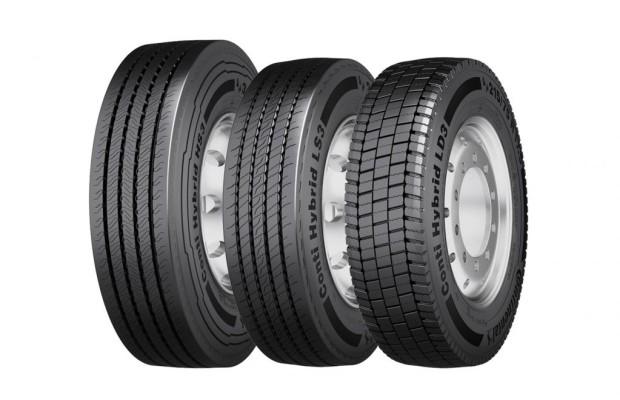 Neue Conti-Reifenfamilie für Regionaltransporter