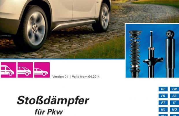 Neuer Katalog für Pkw-Stoßdämpfer von Sachs