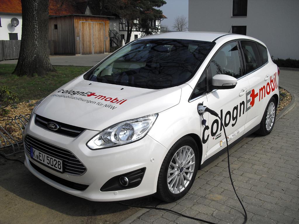 Neuer Stromer: Fords C-Max Energi.