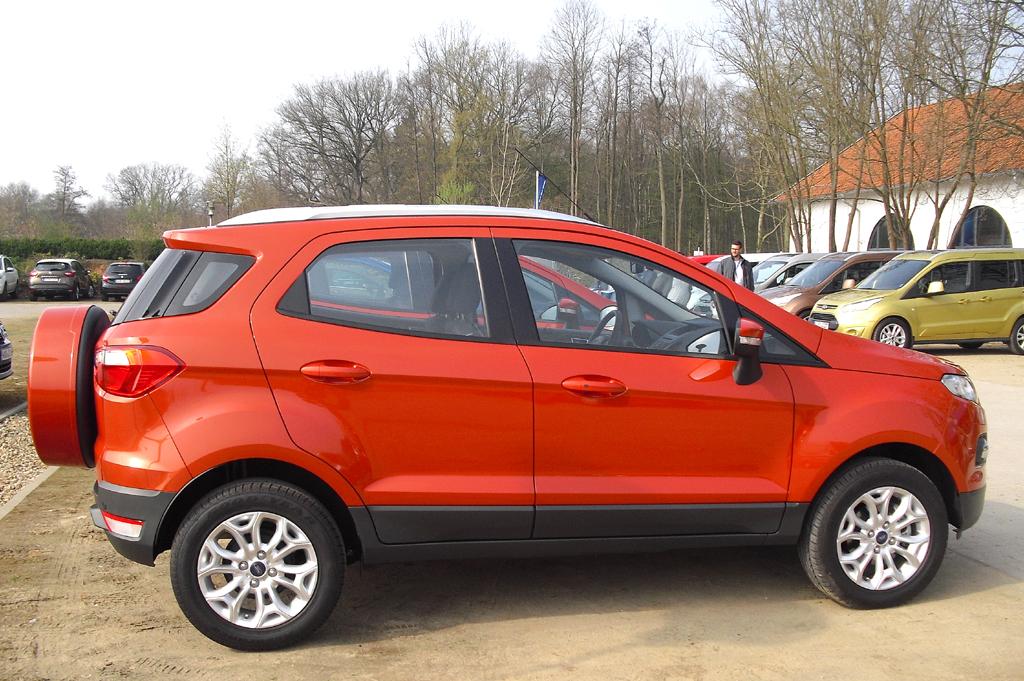 Neues Kompakt-SUV-Modell: Ford EcoSport.
