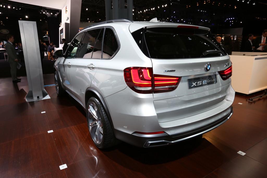 New York 2014: BMW Concept X5 eDrive – weniger als 3,8 Liter