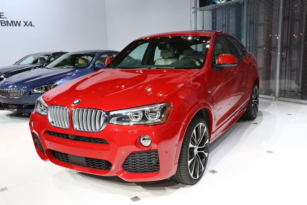 New York 2014: BMW X4 - extrovertiert