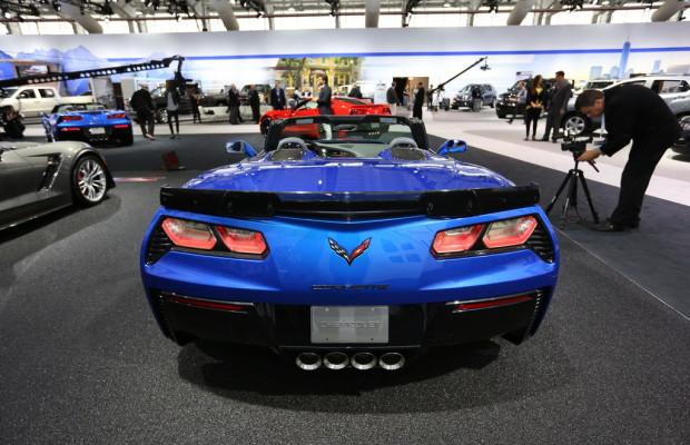New York 2014: Chevrolet Corvette Cabrio - Ein starkes Stück