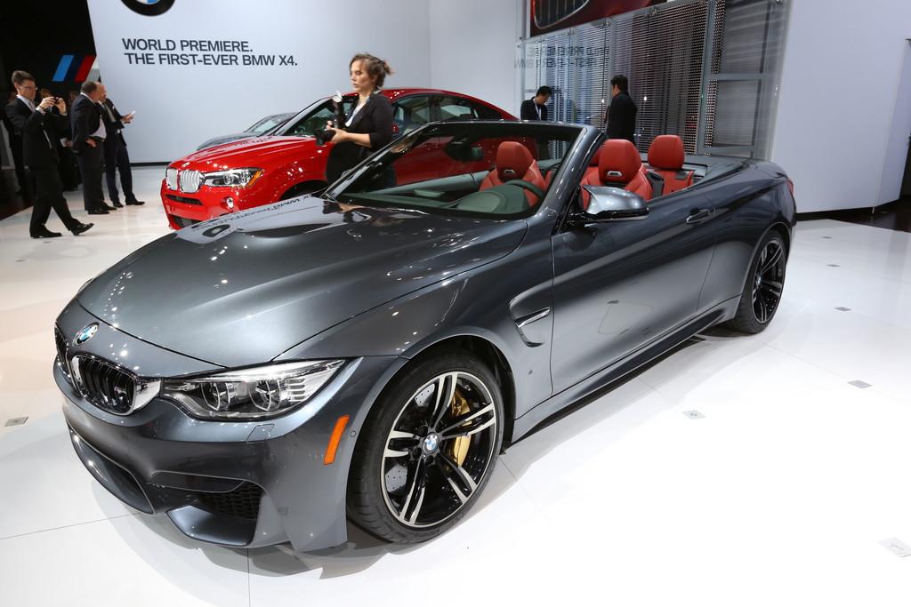 New York 2014: Mit dem BMW M4 Cabrio Offen auf die Rennstrecke