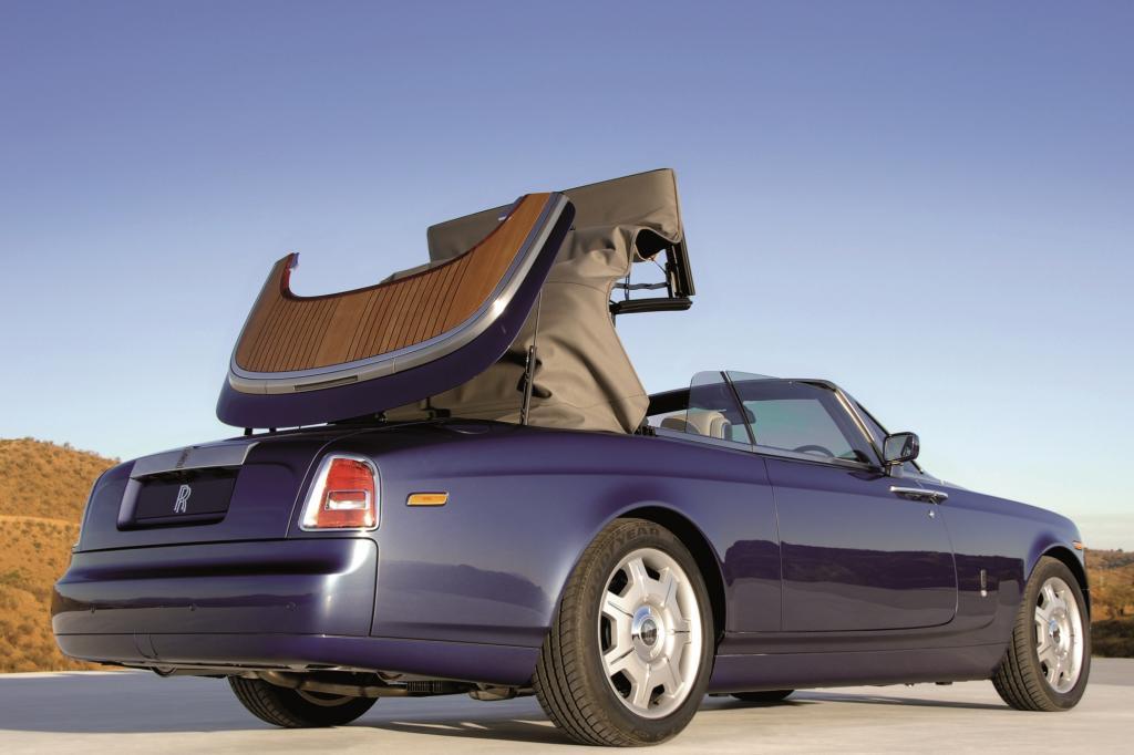 Nur in der Luxusliga, vom BMW 6er über den Bentley Continental bis hin zum Rolls-Royce Phantom (Foto) halten die Hersteller dem Stoffdach auf jeden Fall die Treue - Foto: Rolls-Royce