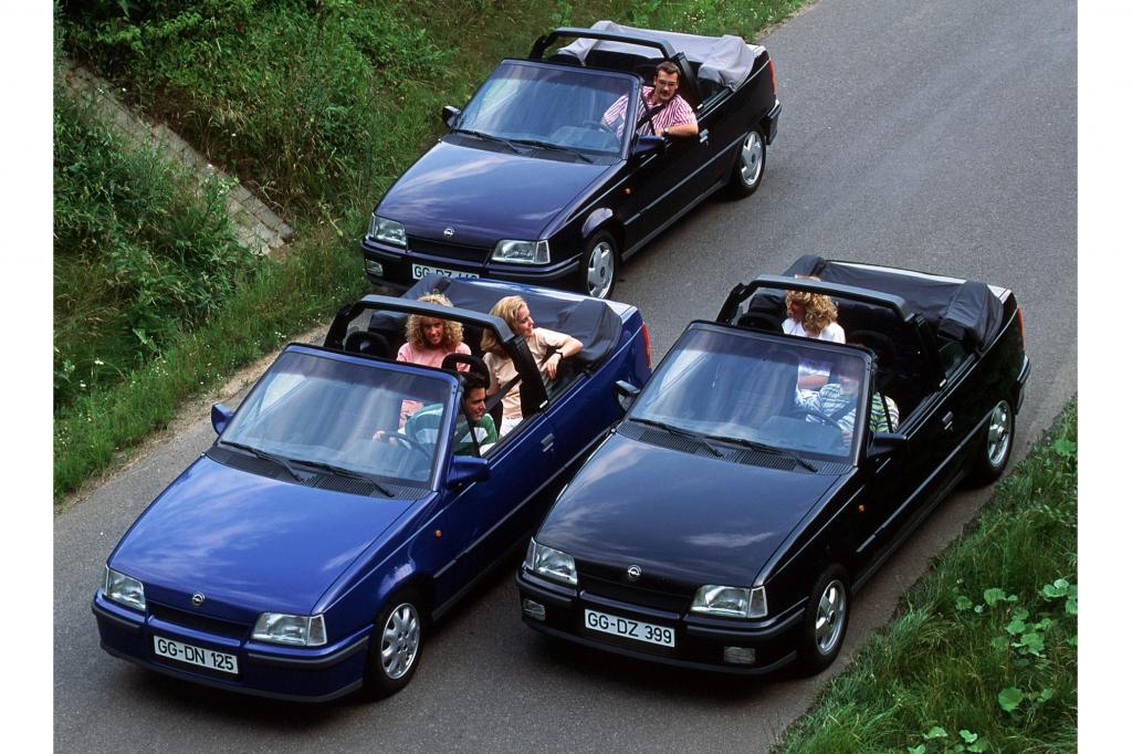 Opel Cabrio Editionsmodelle ab 1992