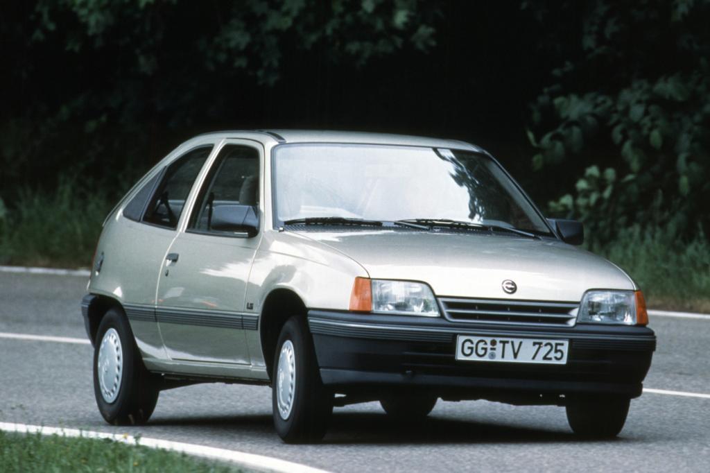Opel Kadett 3türig ab 1984