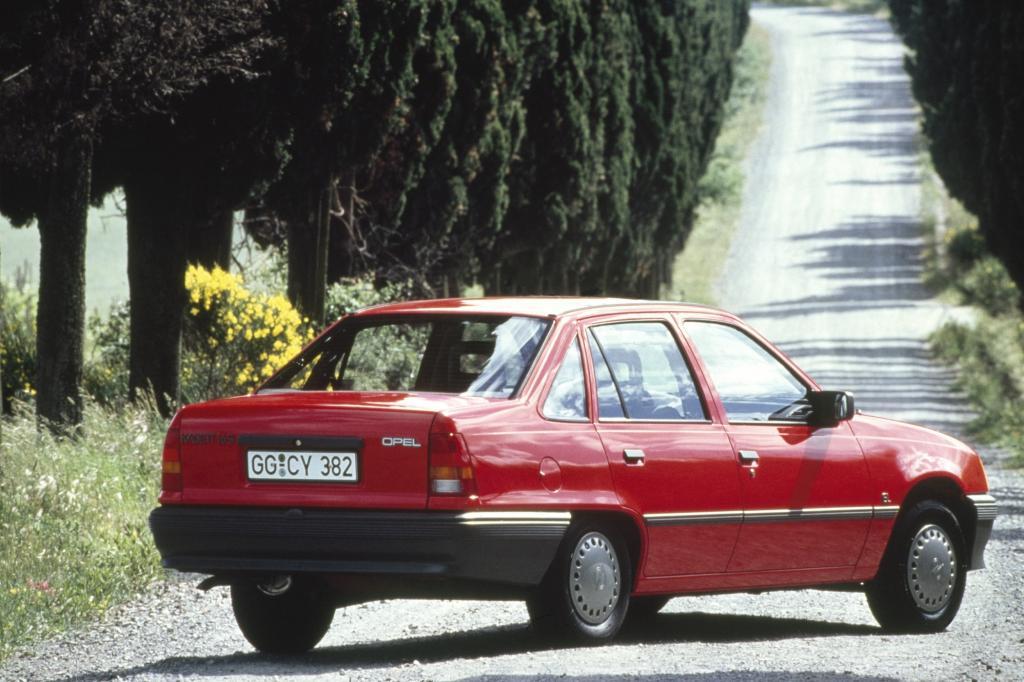Opel Kadett 4türig ab 1985