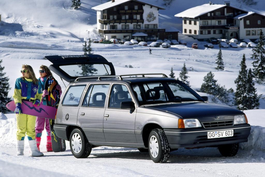 Opel Kadett Caravan 5türig ab 1989