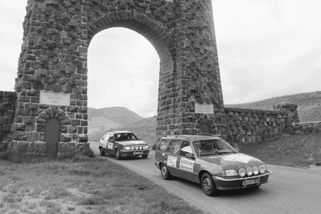 Opel Kadett Diesel 30000 Kilometer von Alaska nach Feuerland 1987