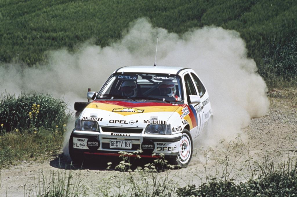 Opel Kadett GSI 16V Sieger Hessen Rallye 1989
