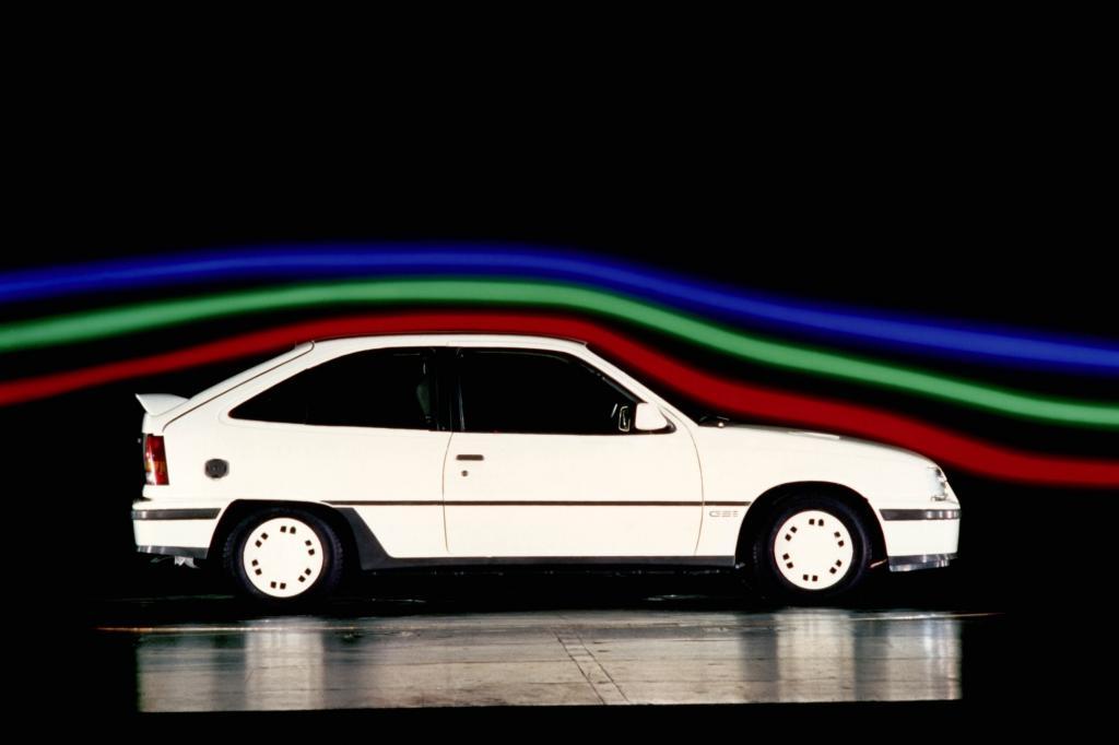 Opel Kadett GSI 3türig ab 1984