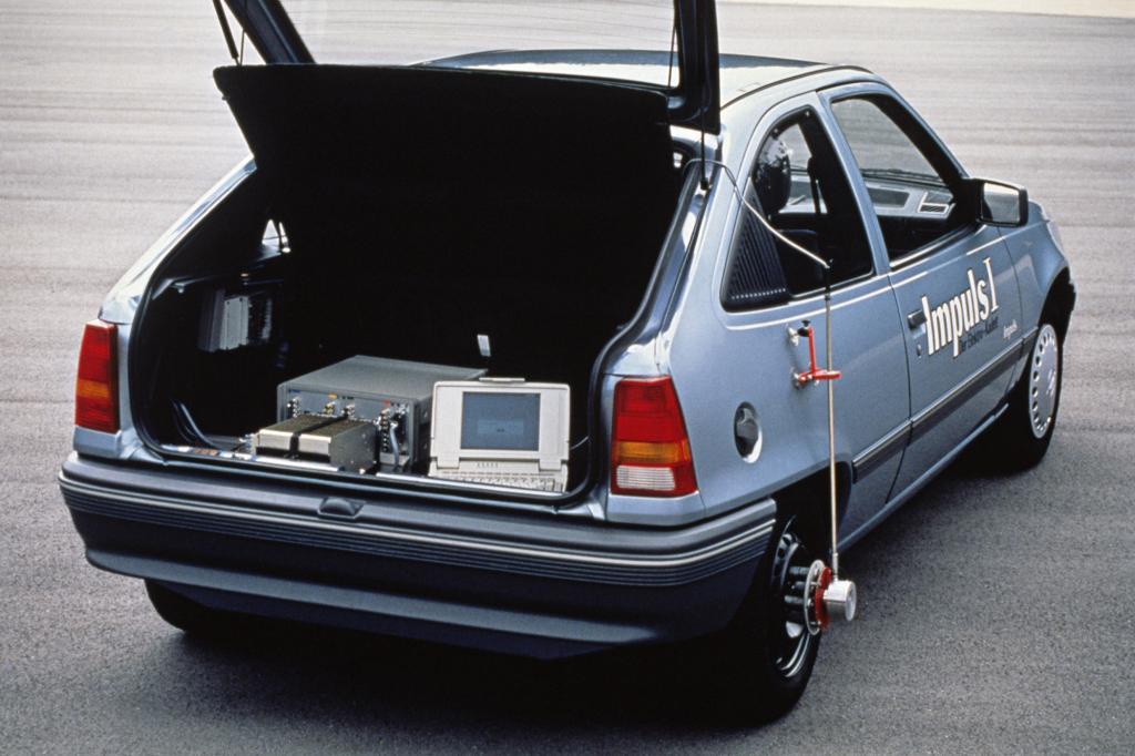 Opel Kadett Impulse mit Elektroantrieb 1991