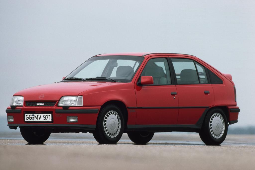 Opel KadettGSI 16V 5türig ab 1989