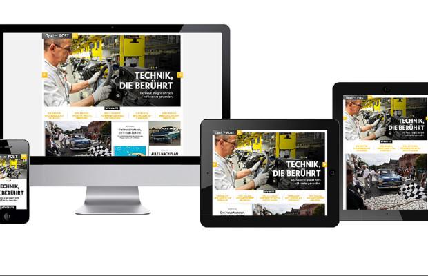 Opel startet Webmagazin