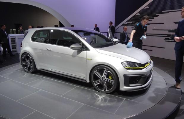 Peking 2014: 400 PS in der Volkswagen-Studie Golf R400