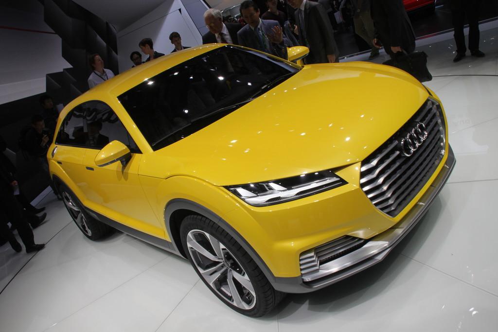 Peking 2014: Audi zeigt TT Offroad Concept