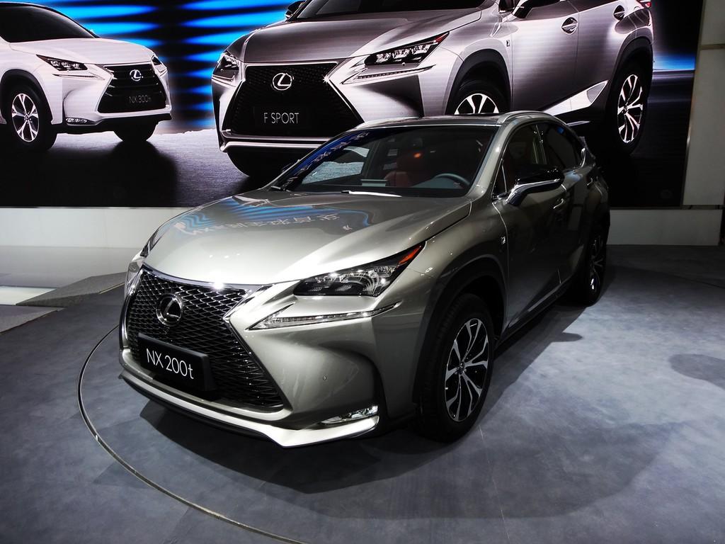 Peking 2014: Lexus NX ist Einstieg bei den kompakten Premium SUV