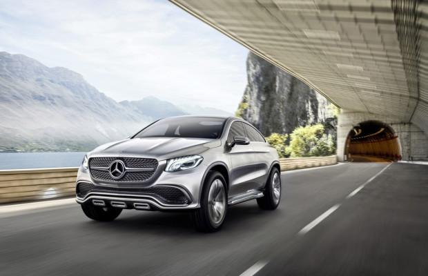 Peking 2014: Mit dem Mercedes Concept Coupé beginnt neue Modellfamilie