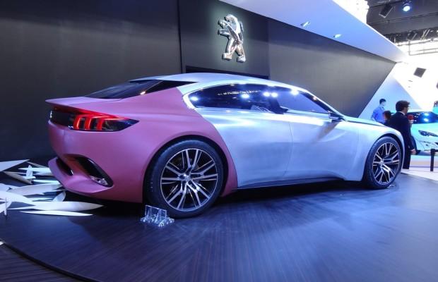 Peking 2014: Peugeot interpretiert das Limousinen-Konzept mit Exalt