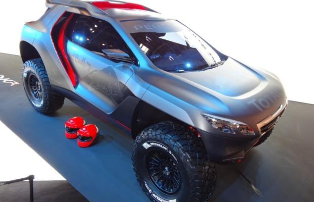 Peking 2014: Peugeot will zur Rallye