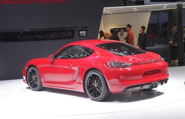 Peking 2014: Porsche Cayman GTS feiert sein Debüt