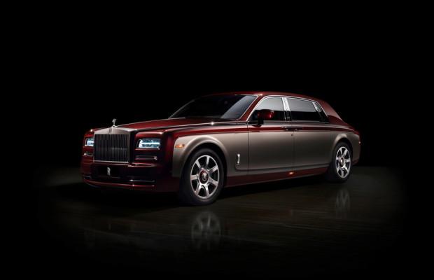 Peking 2014: Rolls Royce zeigt, was die Marke kann