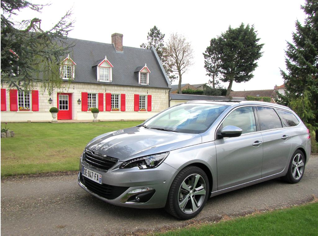 Peugeot 308 SW: Drei Ausstattungslinien stehen zur Wahl.