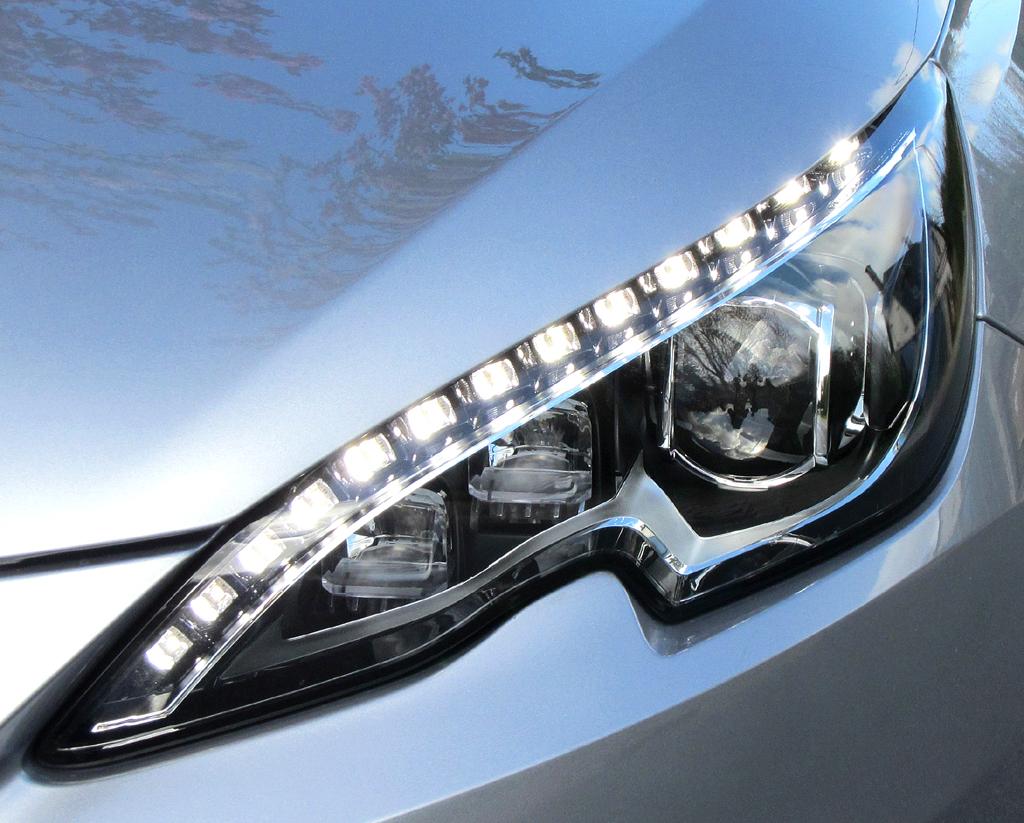 Peugeot 308 SW: Moderne Leuchteinheit vorn.