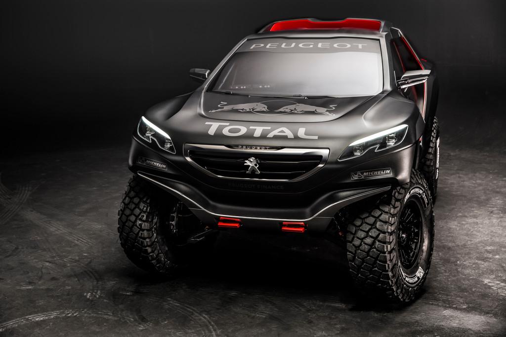 Peugeot tritt mit 2008 DKR bei der Rallye Dakar an