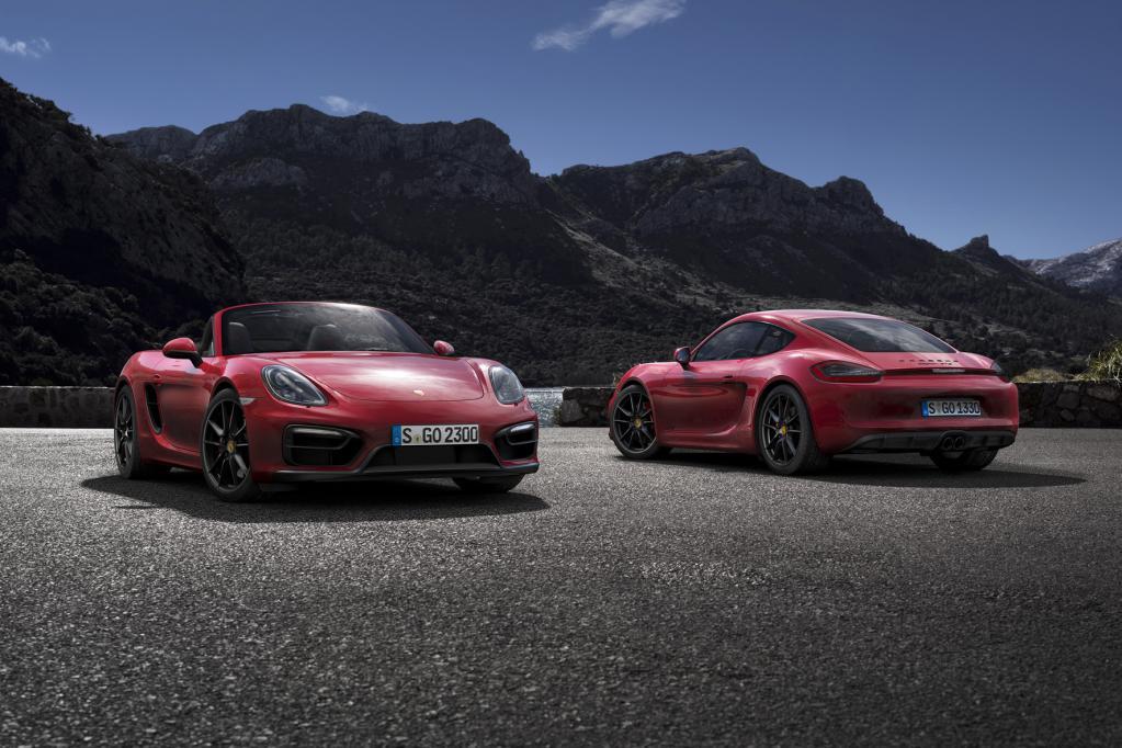 Porsche Boxster GTS und Cayman GTS debütieren in Peking