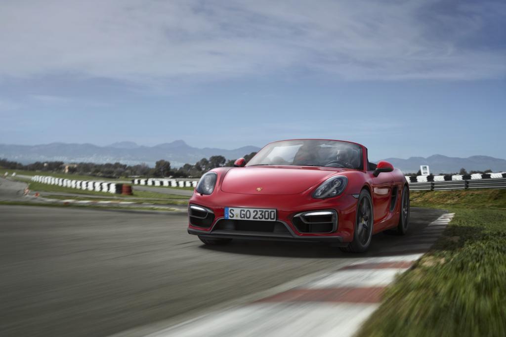 Porsche zeigt die GTS-Variante von Cayman und Boxster - Bild: Porsche