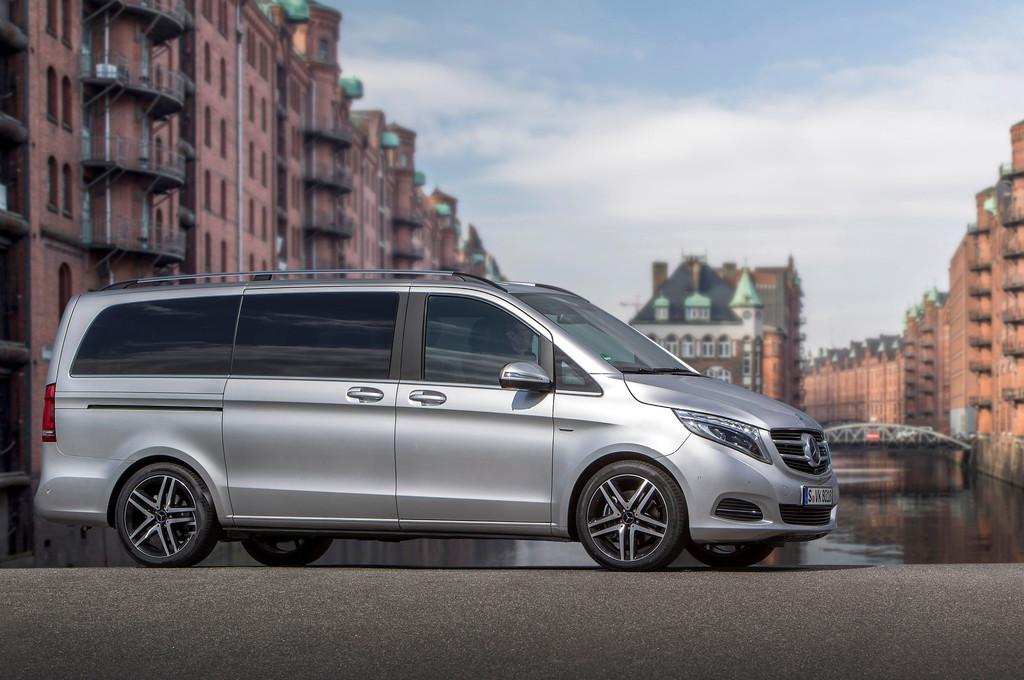 Pressepräsentation Mercedes-Benz V-Klasse: Willkommen im Klub!