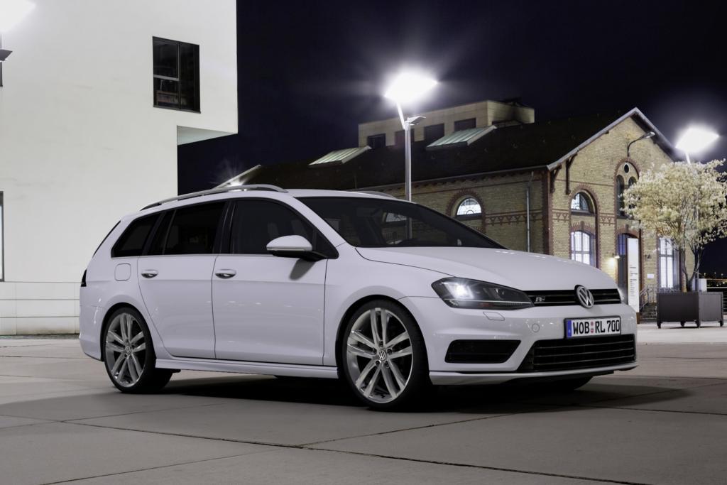 R-Line für VW Golf Variant und VW Scirocco - Mehr Dynamik für innen und außen