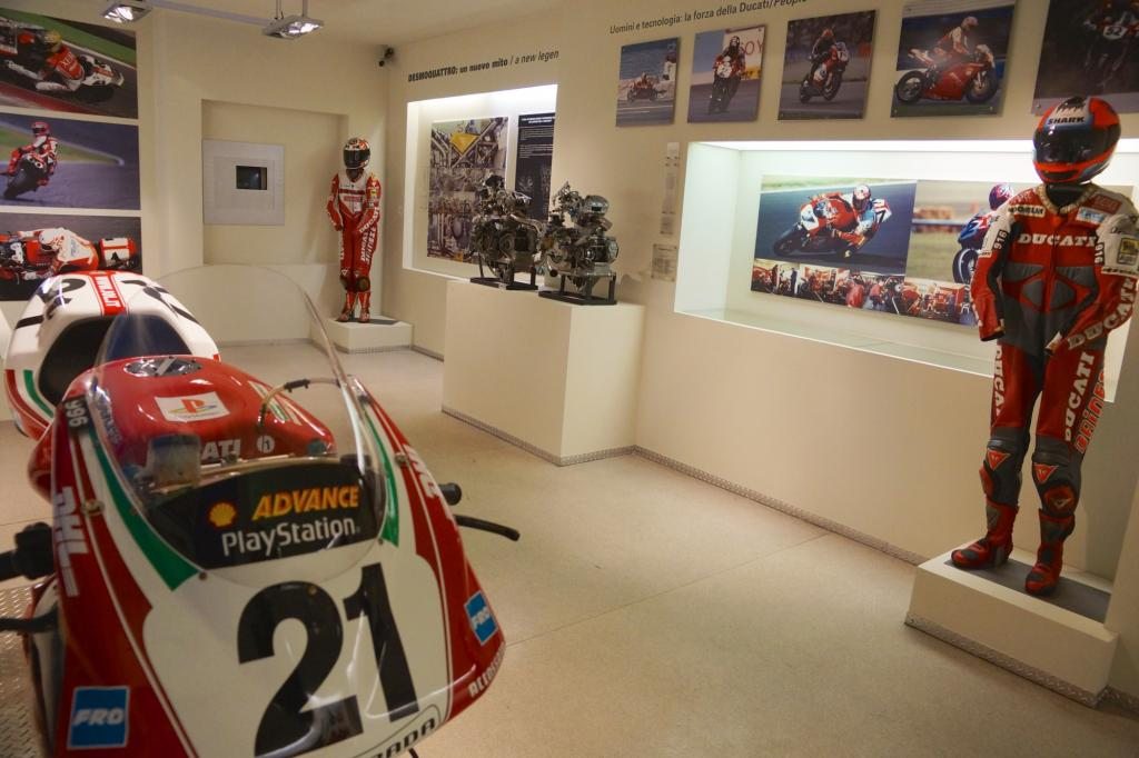 Rennhistorie lebt auf im Ducati-Werksmuseum mit Superbikes und MotoGP
