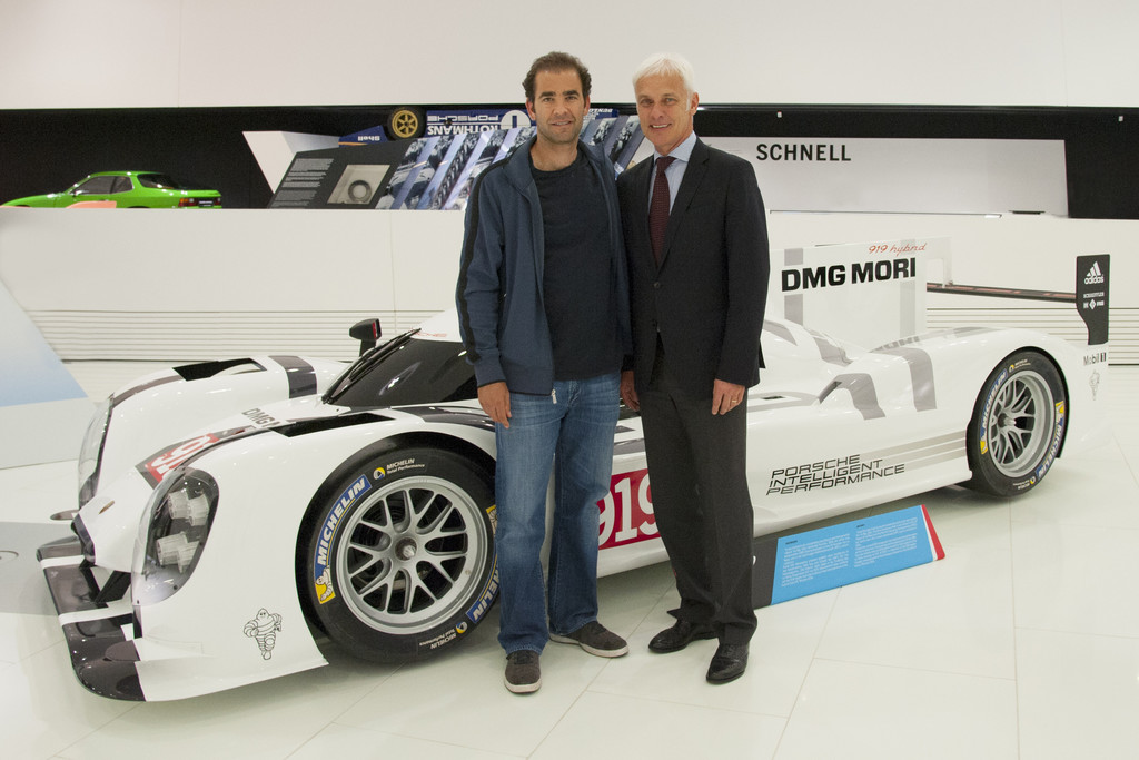 Sampras und Moyá besuchten Porsche