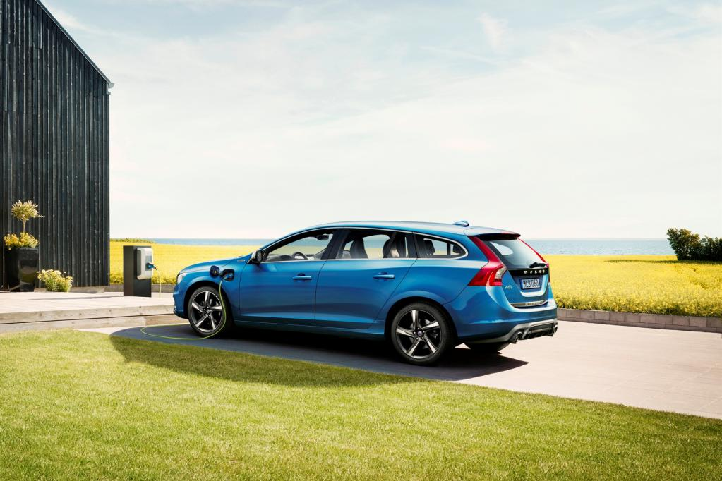 Sauberer Muskelprotz: Volvo V60 im R-Design