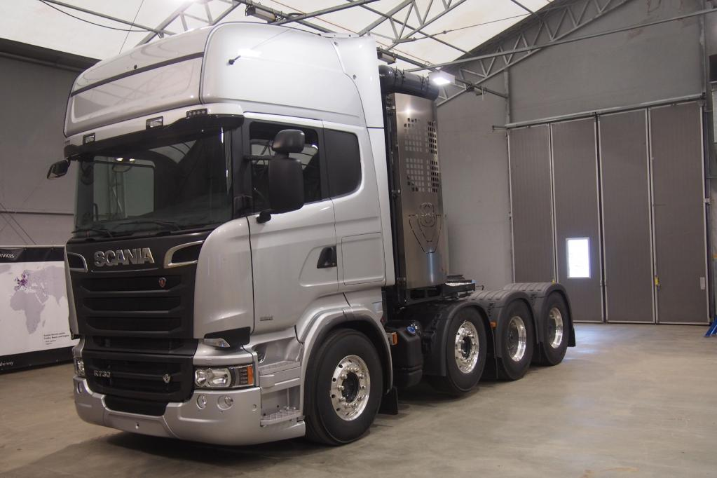 Scania: Schwertransport light