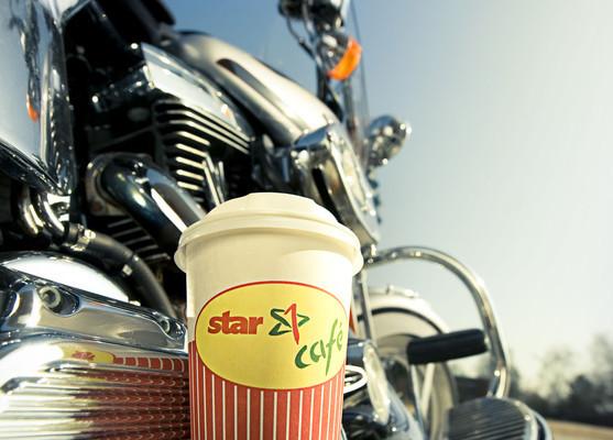 Star hat einen Gratis-Kaffee für Biker
