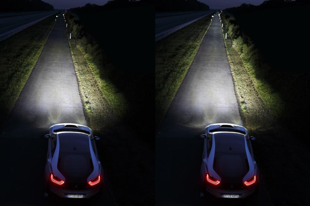 Straßenführung, Schilder, Hindernisse registriert das Auge nun deutlich früher und weniger angestrengt
