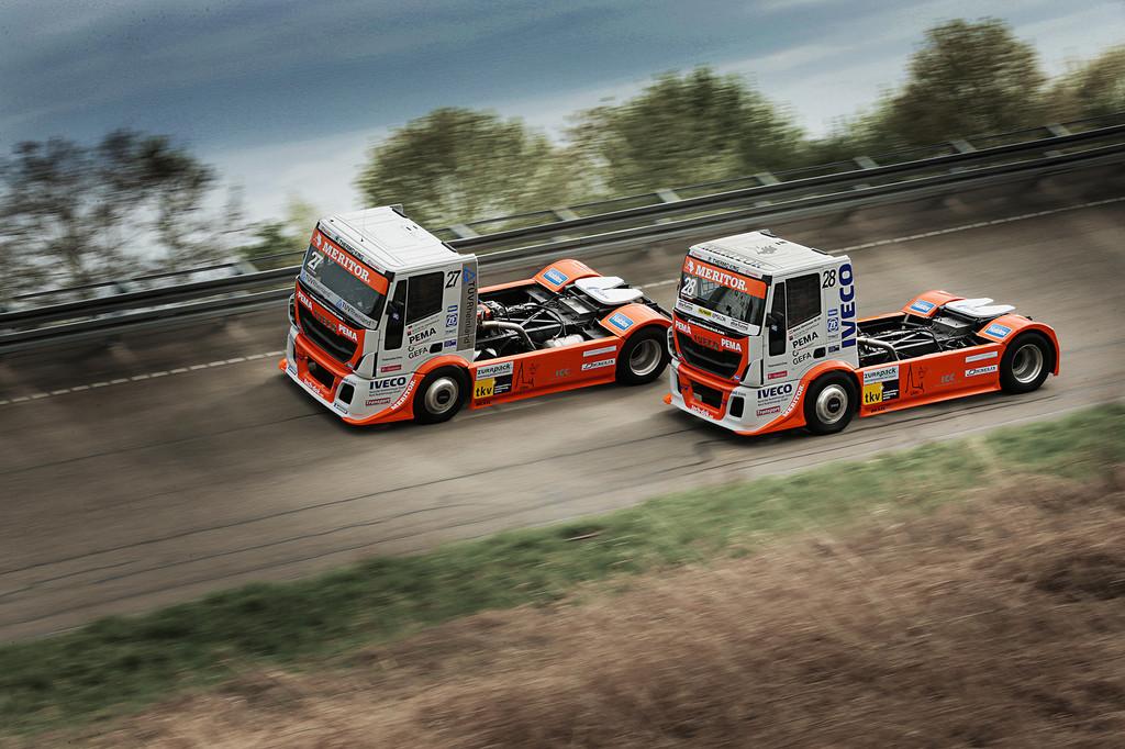 Team Schwabentruck stellt Racetrucks 2014 vor