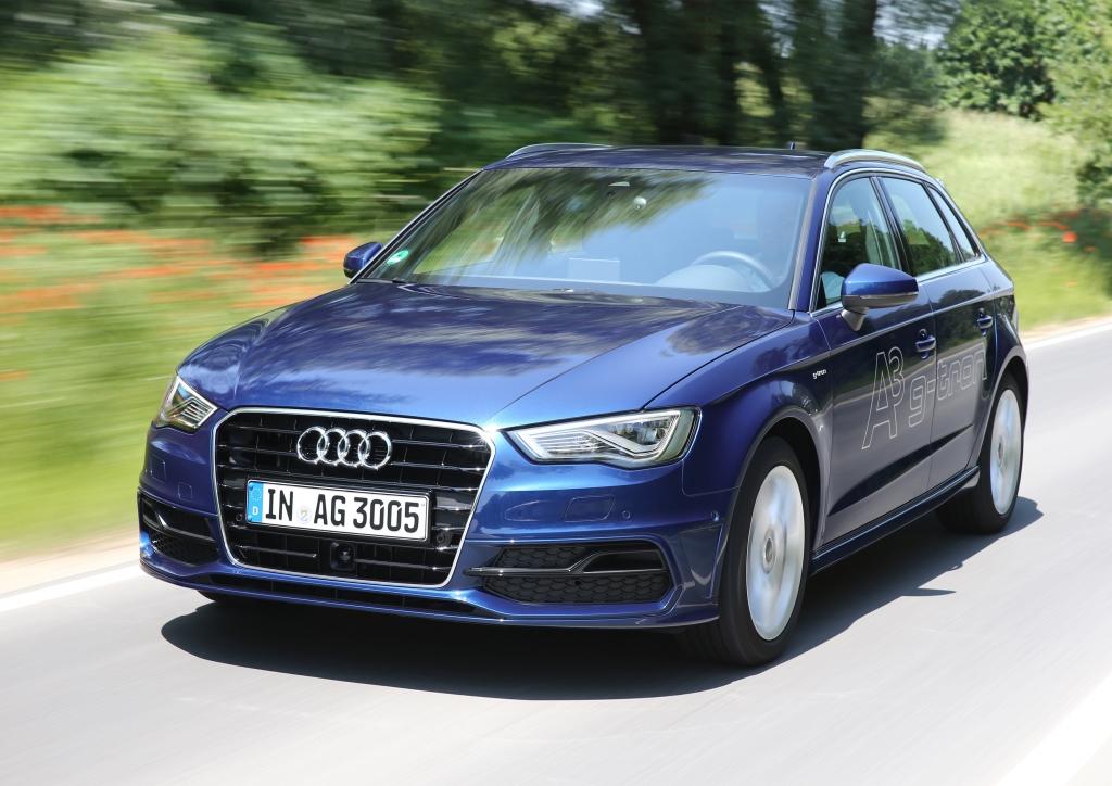 Test Audi A3 Sportback G-tron: Sparen kostet