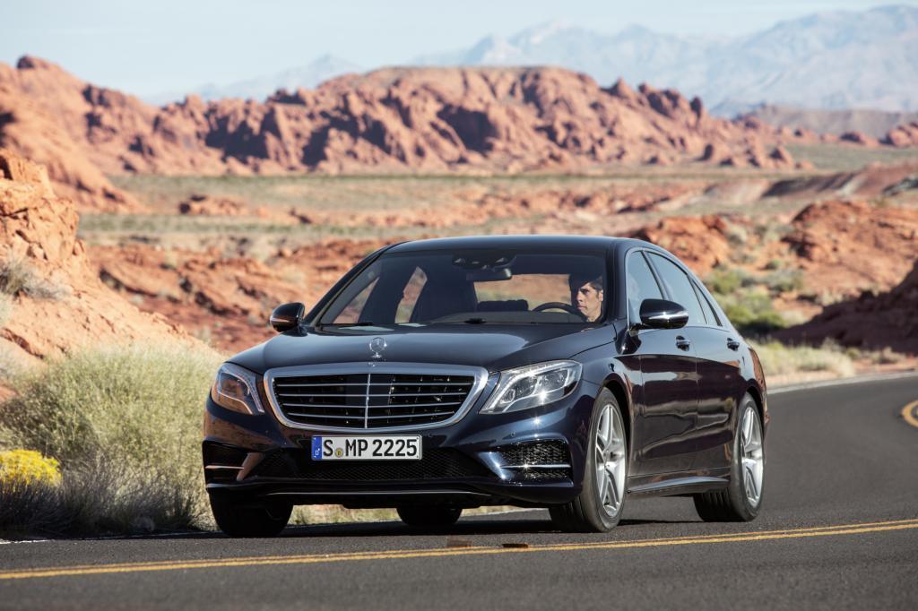 Test Mercedes S 500 L - Miss Elli und ihr Chauffeur