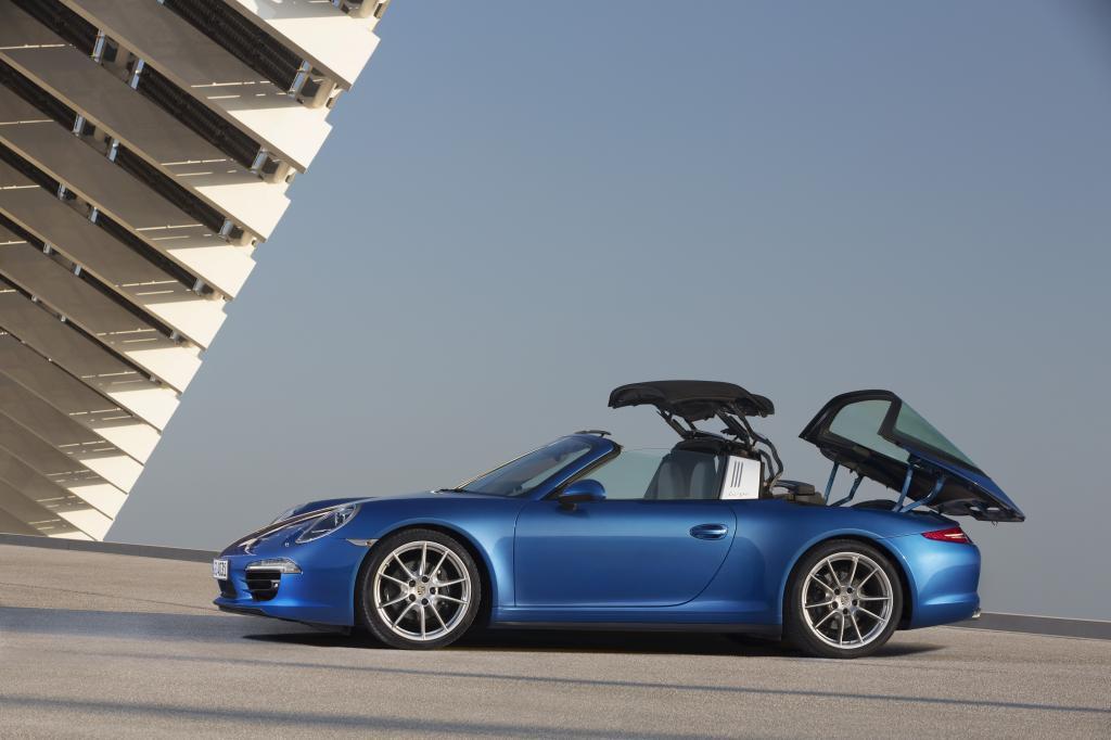 Test Porsche 911 Targa - Showtime auf der Sonnenbank