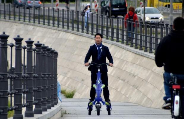 Trikke darf auf deutschen Straßen fahren