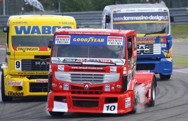 Truck-EM: Renn-Lady Ellen Lohr bändigt 1 200 PS