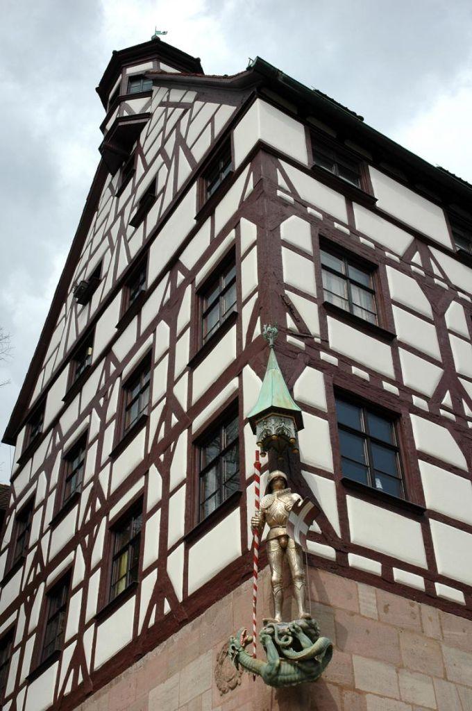 Typisch: Fachwerkhäuser kennzeichnen die Altstadt.