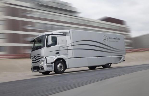 Umweltfreundliche Lastwagen - Spritsparen auch bei den ganz Großen