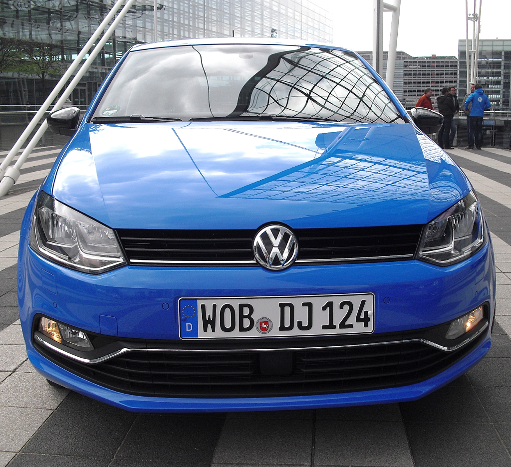 VW Polo: Blick auf die Frontpartie.